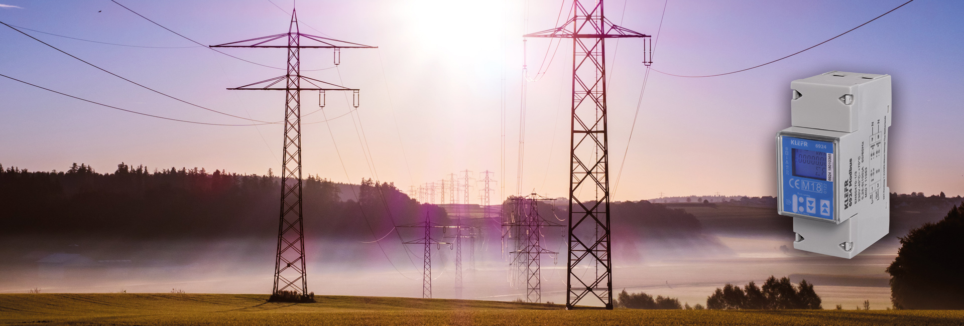KLEFR single phase energy meter