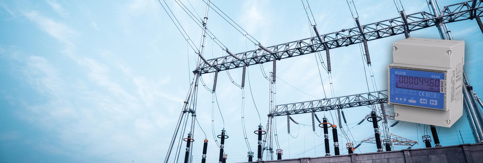 KLEFR three phase energy meter