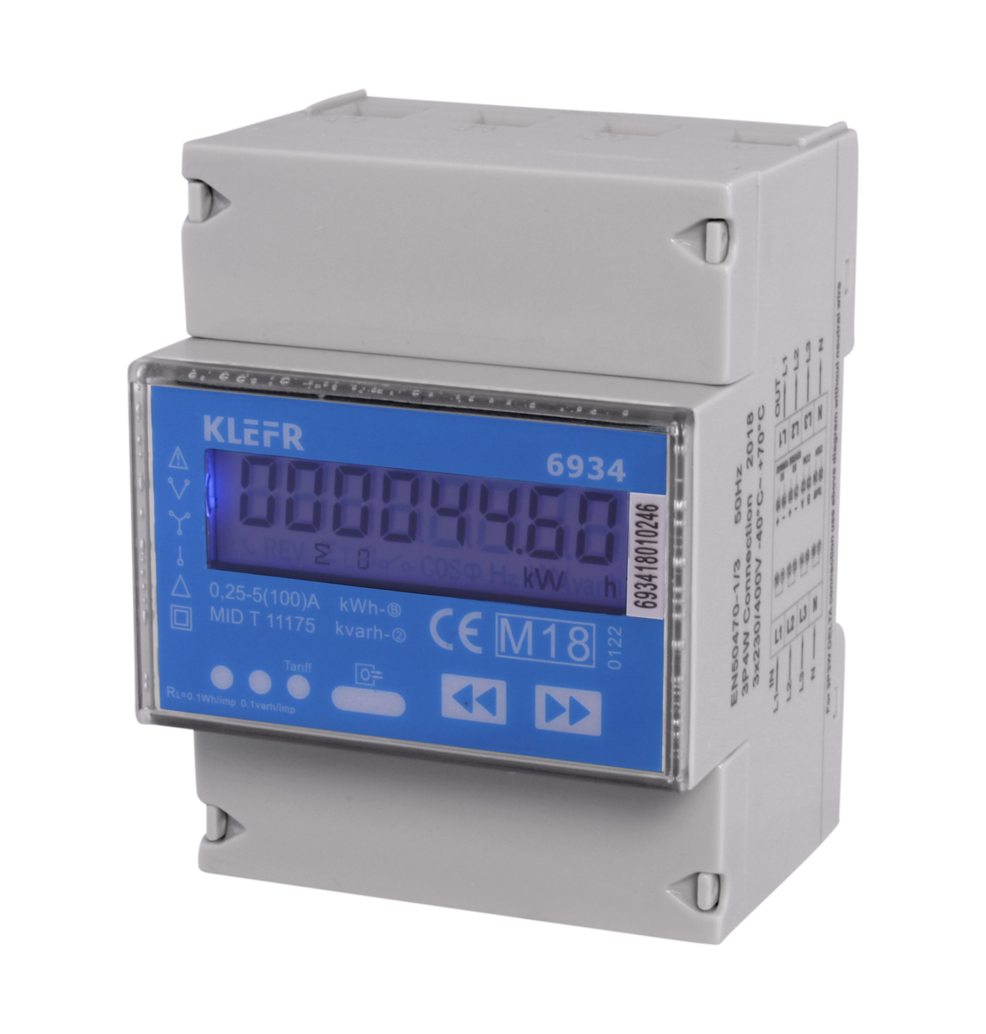 KLEFR three phase meter
